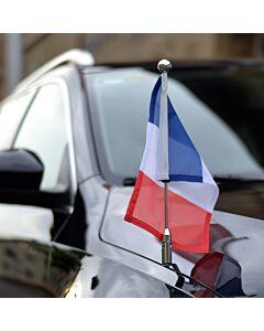 Autoflaggen-Ständer Diplomat-Z-Chrome-PRO