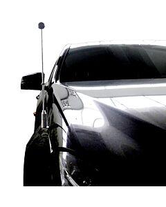 Autoflaggen-Ständer Diplomat-Z-Chrome-MB-W212  für Mercedes-Benz E-Klasse W212 (2009-2016)